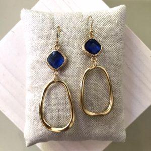Rivièra Royal Blue oorbellen